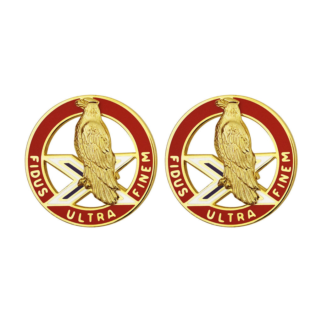 2nd ADA (Air Defense Artillery) Unit Crest (Fidus Ultra Finem)