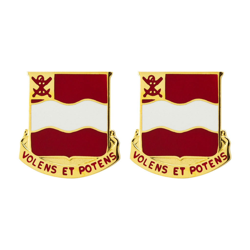 4th Engineer Battalion Unit Crest (Volens Et Potens)
