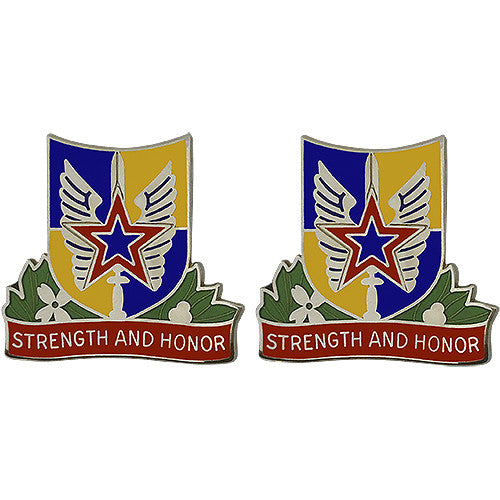 Combat Aviation Brigade, 35th Infantry Division Unit Crest (Strength and Honor)