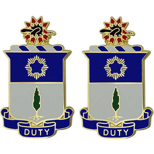 21st Infantry Regiment Unit Crest (Duty)