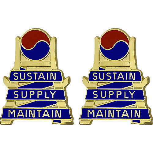 21st Support Brigade Unit Crest (Sustain Supply Maintain)