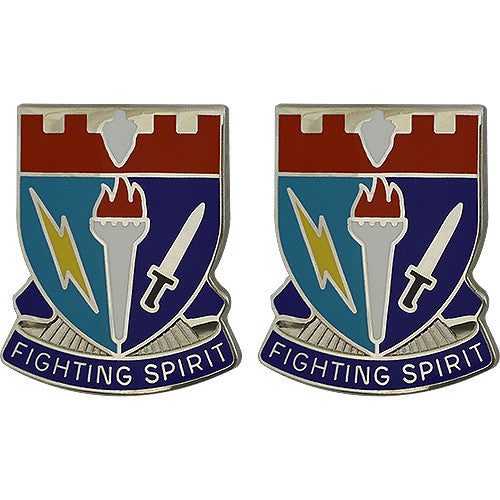 Special Troops Battalion, 26th Infantry Brigade Combat Team Unit Crest (Fighting Spirit)