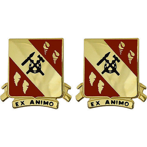 27th Support Battalion Unit Crest (Ex Animo)