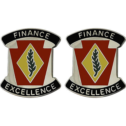 28th Finance Battalion Unit Crest (Finance Excellence)