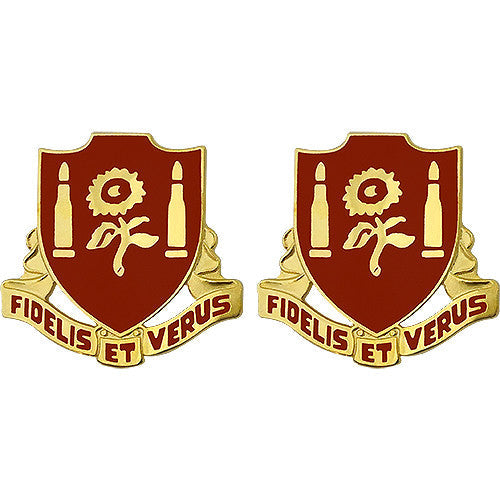 29th Field Artillery Regiment Unit Crest (Fidelis Et Verus)