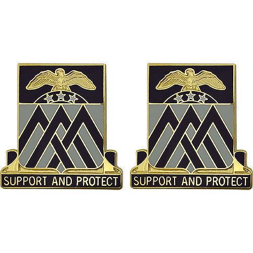 Special Troops Battalion, 29th Infantry Division Unit Crest (Support and Protect)