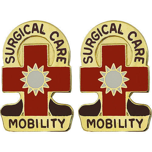 32nd Combat Support Hospital Unit Crest (Surgical Care Mobility)