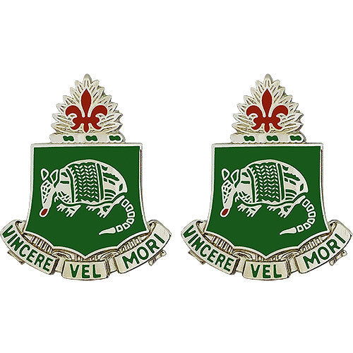 35th Armor Regiment Unit Crest (Vincere Vel Mori)