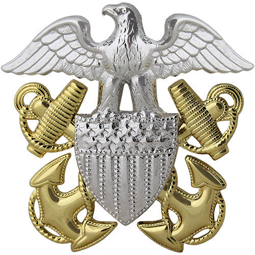 Navy Cap Device - Officer