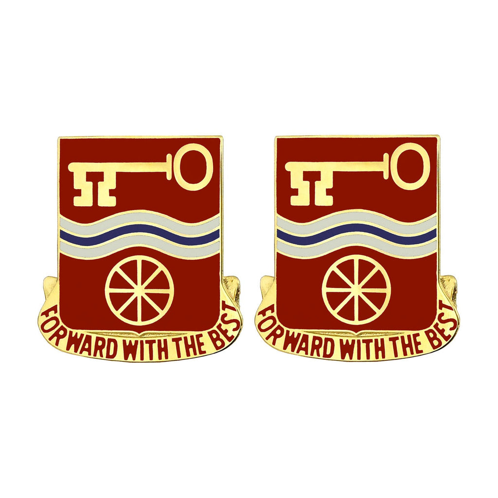 40th Support Battalion Unit Crest (Forward With the Best)
