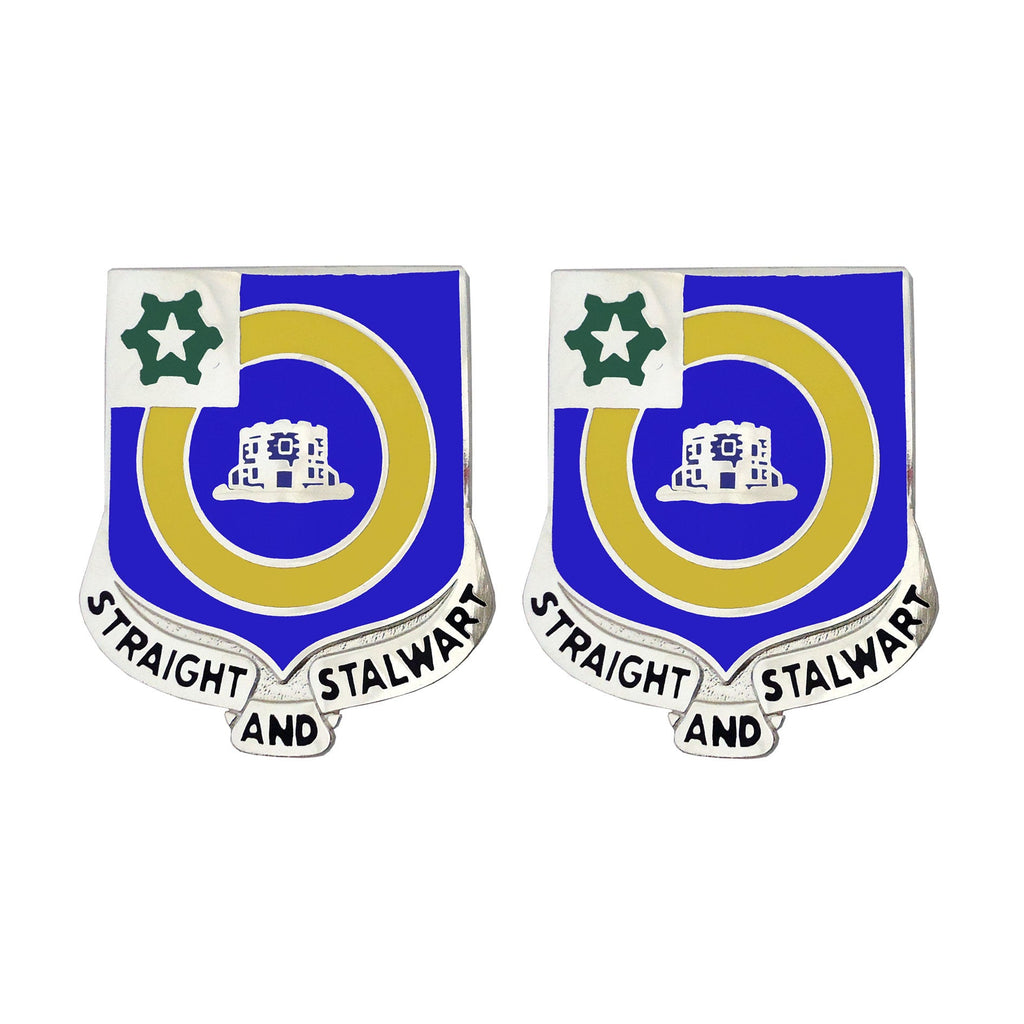 41st Infantry Regiment Unit Crest (Straight and Stalwart)
