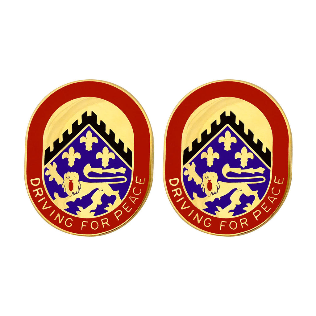 44th Corps Support Battalion Unit Crest (Driving for Peace)