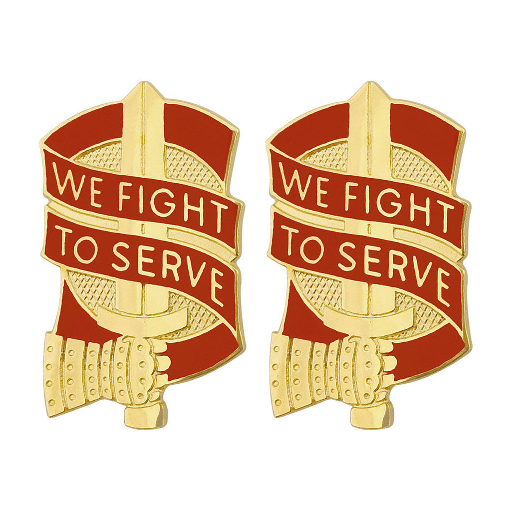 45th Sustainment Brigade Unit Crest (We Fight to Serve)