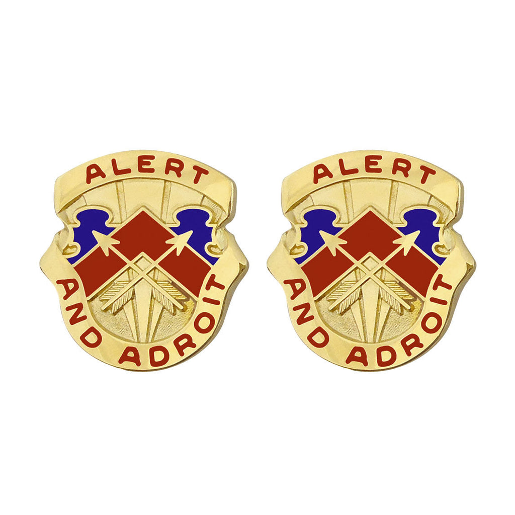 49th ADA (Air Defense Artillery) Group Unit Crest (Alert and Adroit)