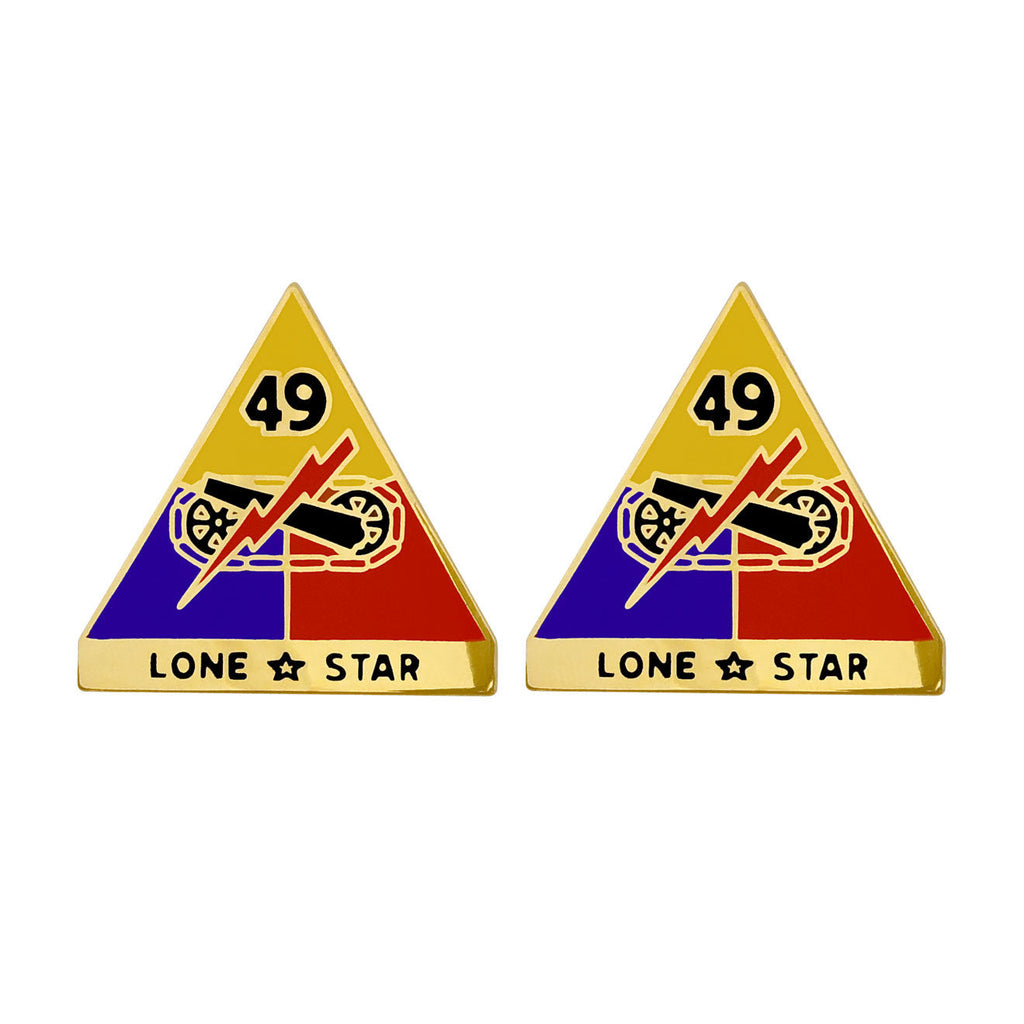 49th Armored Division Unit Crest (Lone Star)