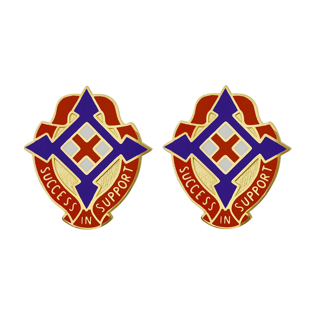 50th Area Support Group Unit Crest (Success in Support)