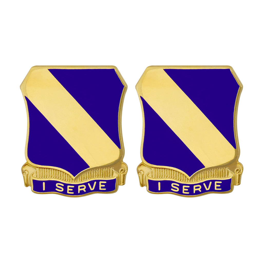 51st Infantry Regiment Unit Crest (I Serve)
