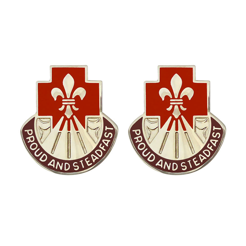 62nd Medical Brigade Unit Crest (Proud and Steadfast)