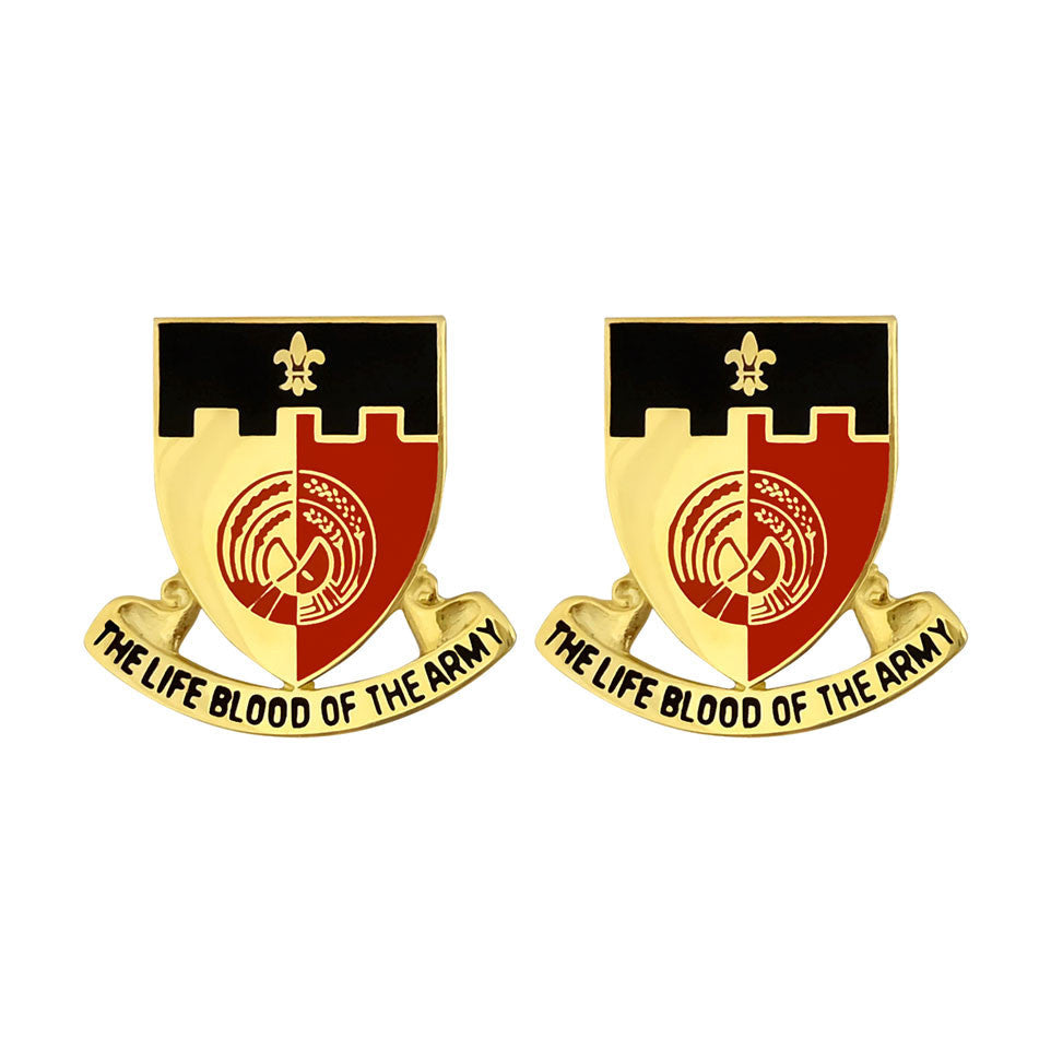 64th Brigade Support Battalion Unit Crest (The Life Blood of the Army)