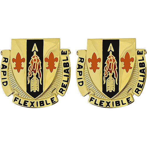 67th Signal Battalion Unit Crest (Rapid Flexible Reliable)
