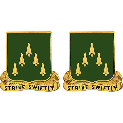 70th Armor Regiment Unit Crest (Strike Swiftly)