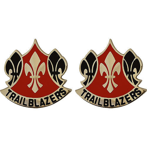 70th Training Division (Functional Training) Unit Crest (Trailblazers)