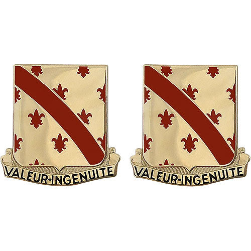 70th Engineer Battalion Unit Crest (Valeur - Ingenuite)