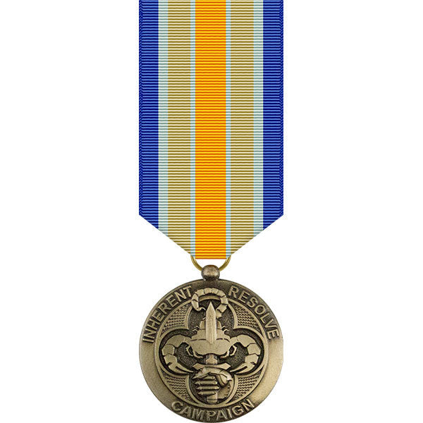 Inherent Resolve Campaign Miniature Medal
