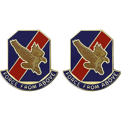 77th Aviation Brigade Unit Crest (Force From Above)
