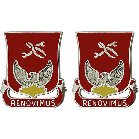 80th Ordnance Battalion Unit Crest (Renovimus)