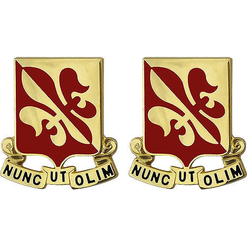 80th Training Regiment Unit Crest (Nunc Ut Olim)