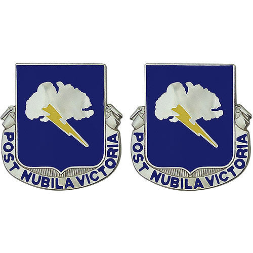 82nd Chemical Battalion Unit Crest (Post Nubila Victoria)