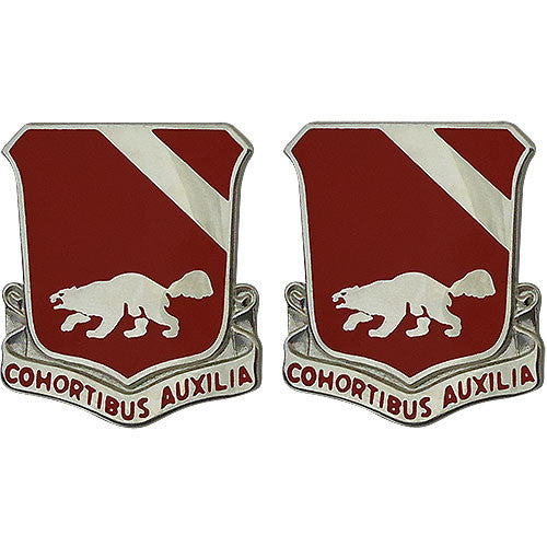 94th Engineer Battalion Unit Crest (Cohortibus Auxilia)