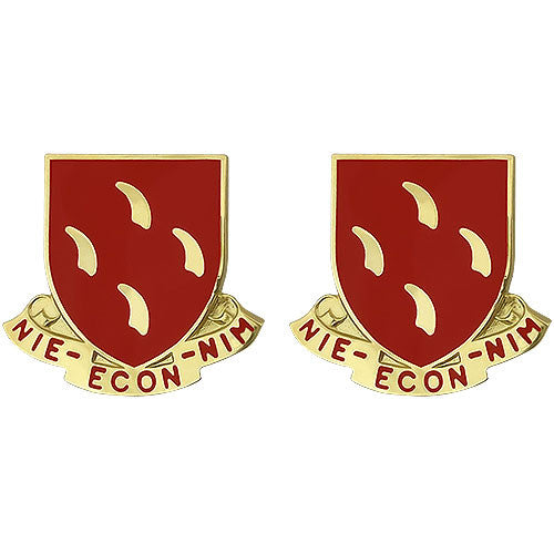 95th Regiment Unit Crest (Nie - Econ - Nim)