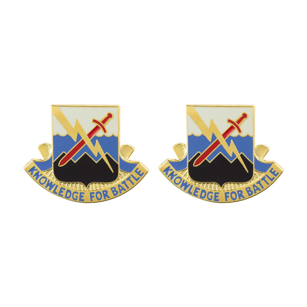102nd Military Intelligence Battalion Unit Crest (Knowledge for Battle)
