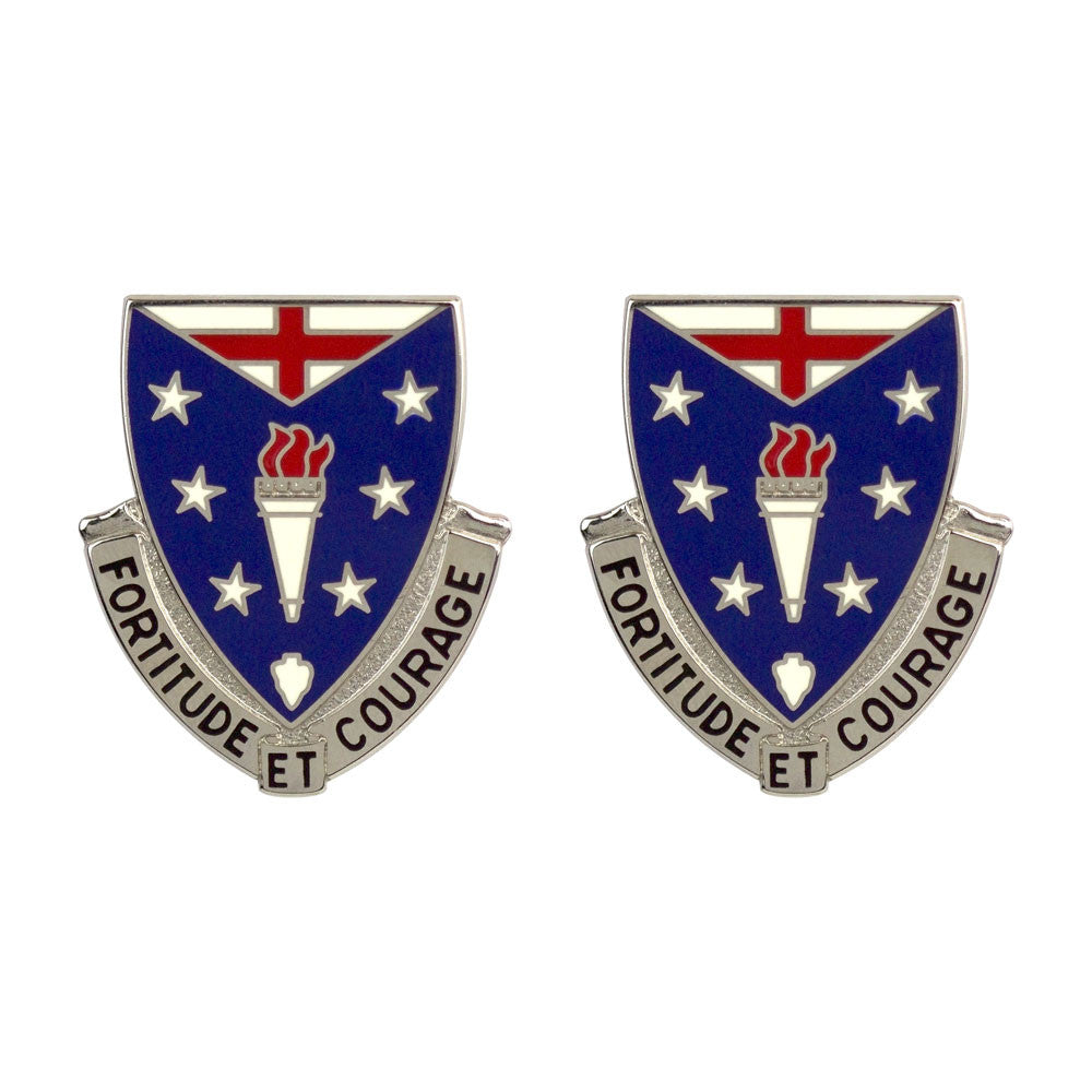 104th Infantry Regiment Unit Crest (Fortitude Et Courage)