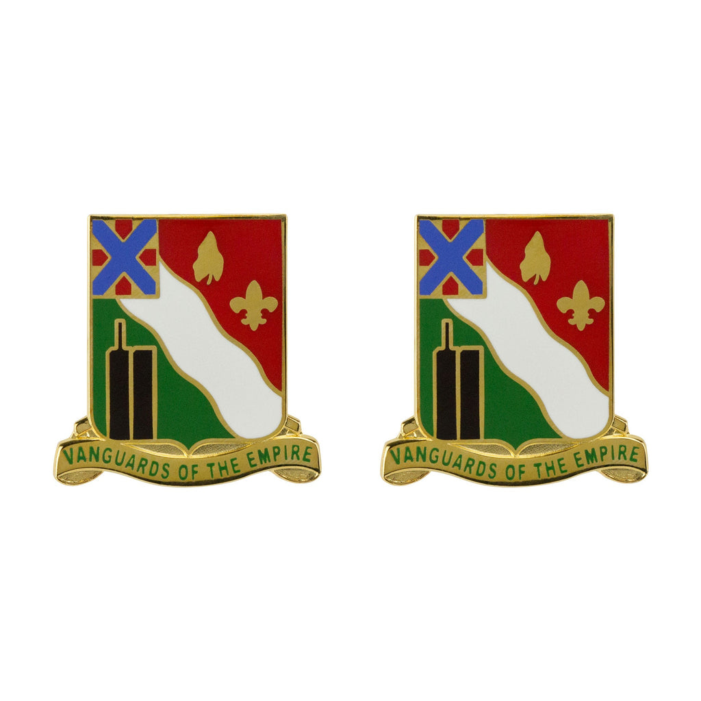 104th Military Police Battalion Unit Crest (Vanguards of the Empire)