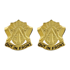 105th Cavalry Regiment Unit Crest (Out in Front)