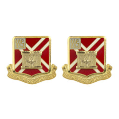 105th Field Artillery Regiment Unit Crest (Ils Ne Passeront Pas)