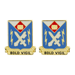 105th Military Intelligence Battalion Unit Crest (Bold Vigil)
