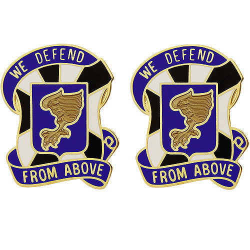 108th Aviation Regiment Unit Crest (We Defend From Above)