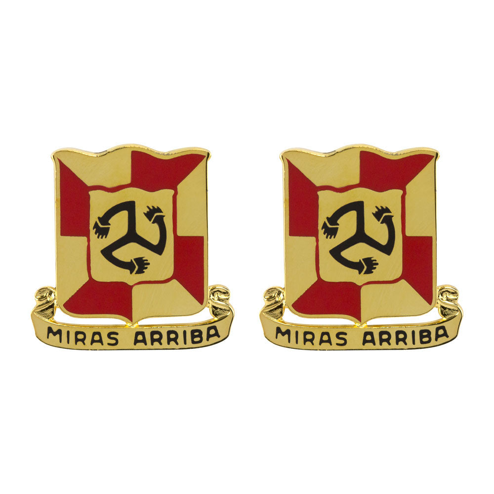 111th Sustainment Brigade Unit Crest (Miras Arriba)