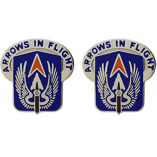 112th Aviation Regiment Unit Crest (Arrows in Flight)