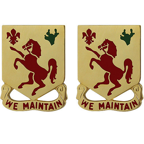 113th Cavalry Regiment Unit Crest (We Maintain)