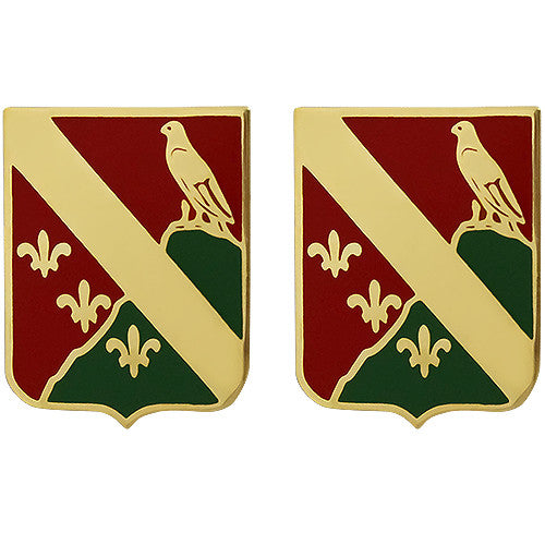 113th Field Artillery Regiment Unit Crest (No Motto)
