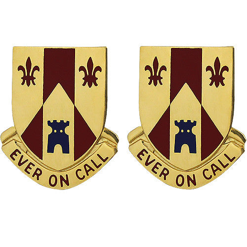 115th Field Artillery Regiment Unit Crest (Ever on Call)