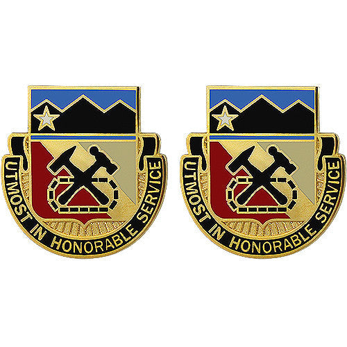 121st Support Battalion Unit Crest (Utmost in Honorable Service)