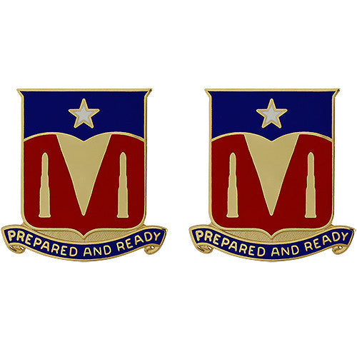 131st Signal Battalion Unit Crest (Prepared and Ready)