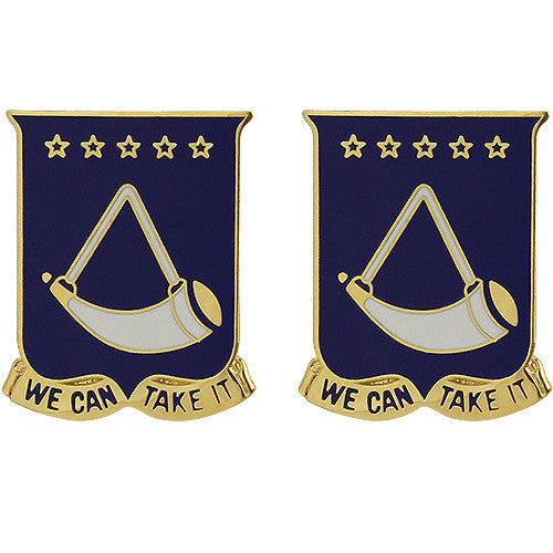 150th Armor Regiment Unit Crest (We Can Take It)