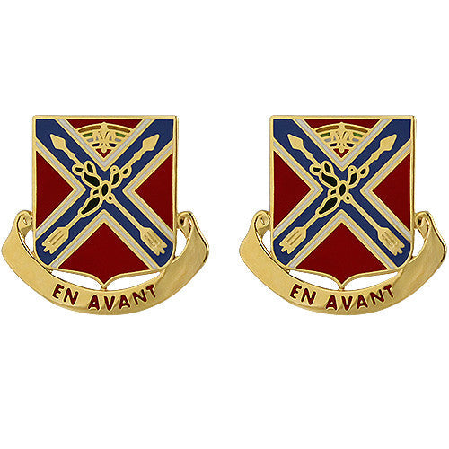 151st Field Artillery Regiment Unit Crest (En Avant)